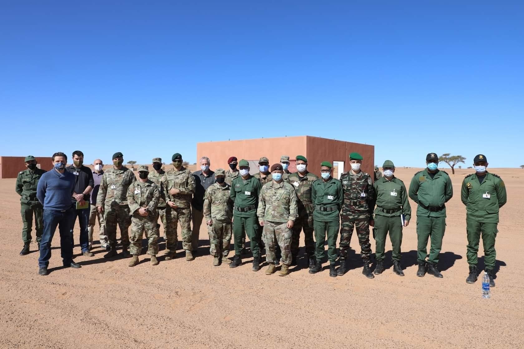 """تحضيرا لـ الأسد الإفريقي"""".. وفد عسكري أمريكي يزور المنطقة العسكرية الجنوبية للمغرب"""