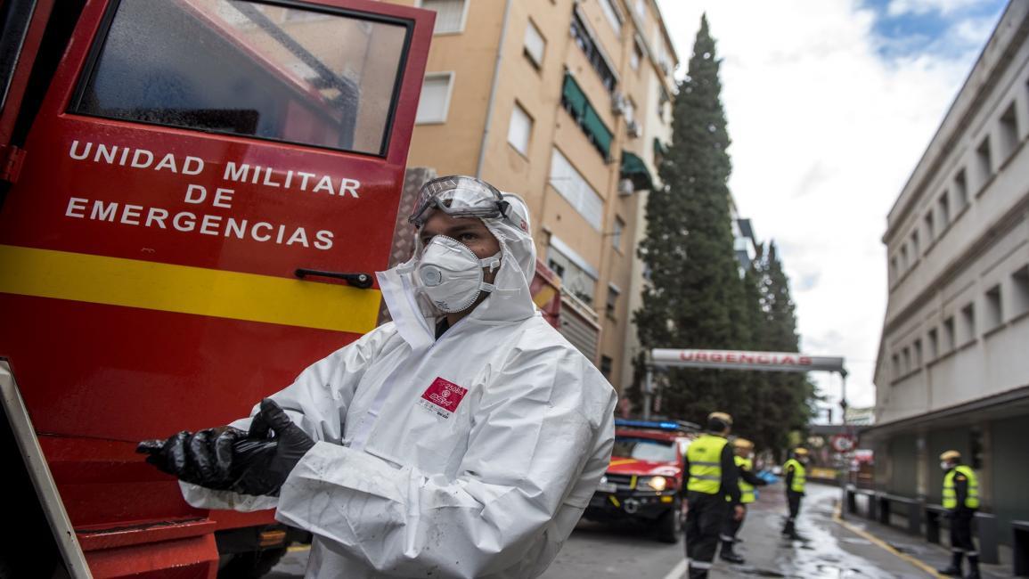 إسبانيا : 94 ألف إصابة بفيروس كورونا خلال العطلة الأسبوعية