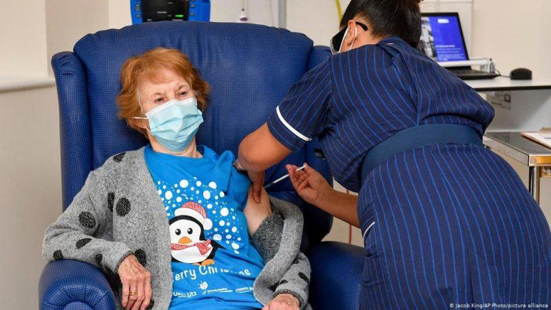 6 ملايين شخص تلقوا لقاح فيروس كورونا في بريطانيا