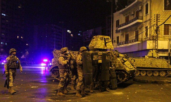 مواجهات بين محتجين وقوى الأمن في لبنان