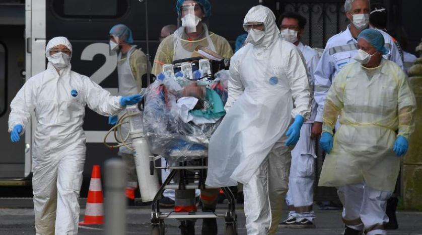 """فرنسا : تسجيل أعلى حصيلة إصابات """" كورونا """" منذ نوفمبر الماضي"""