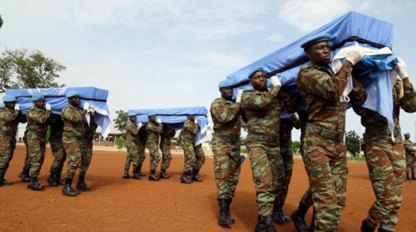 مقتل جندي تابع لقوات حفظ السلام بانفجار عبوة ناسفة في مالي