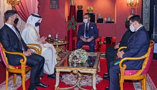 دلالات استقبال عاهل المغرب لوزير الشؤون الخارجية والتعاون الدولي الإماراتي