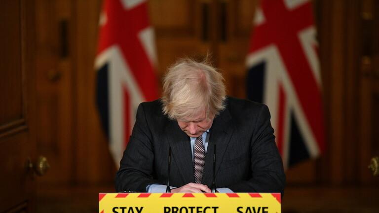 رئيس الوزراء البريطاني: أتحمل  كامل المسؤولية في ارتفاع وفيات كورونا