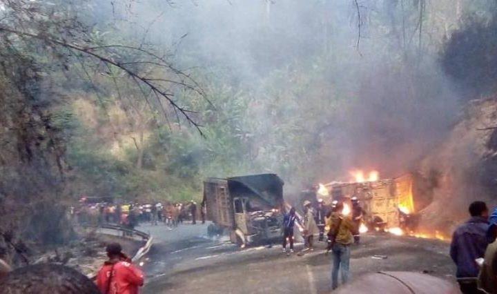 الكاميرون : مصرع 53 شخص احتراقا إثر اصطدام حافلة ركاب بشاحنة لنقل الوقود