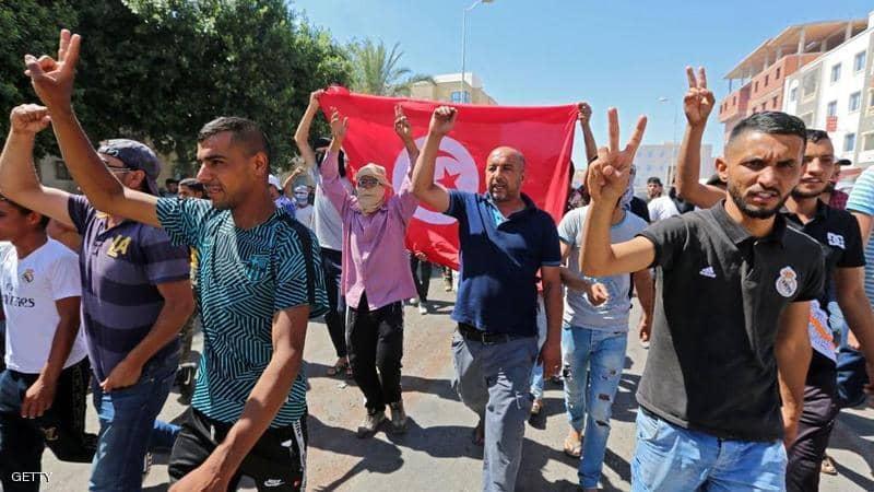 احتجاجات تونس : منطمة العفو الدولية تدعو إلى ضبط النفس