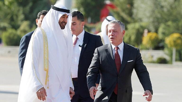 تعزيز العلاقات الثنائية بين البلدين موضوع مباحثات بين ولي عهد أبو ظبي و ملك الأردن