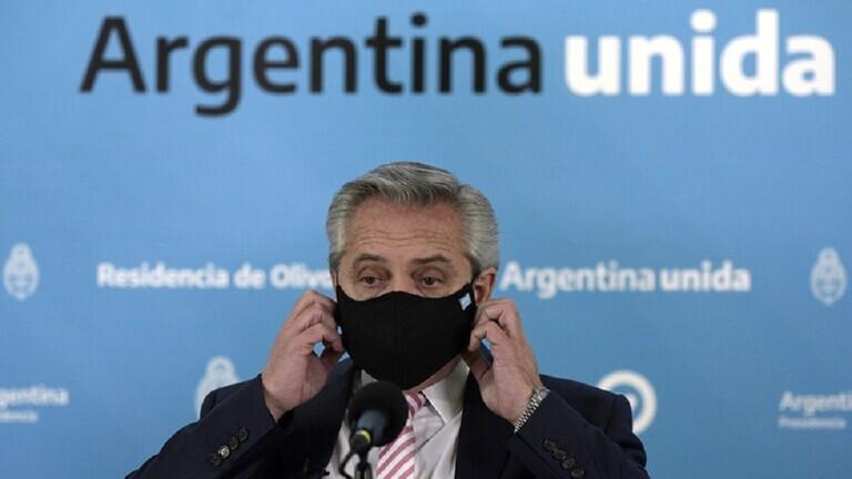 """الأرجنتين تقتني 22 مليون جرعة من لقاح """"سبوتنيك V"""" الروسي المضاد لكورونا"""