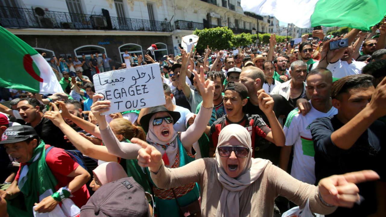 السجن النافذ لناشطة جزائرية