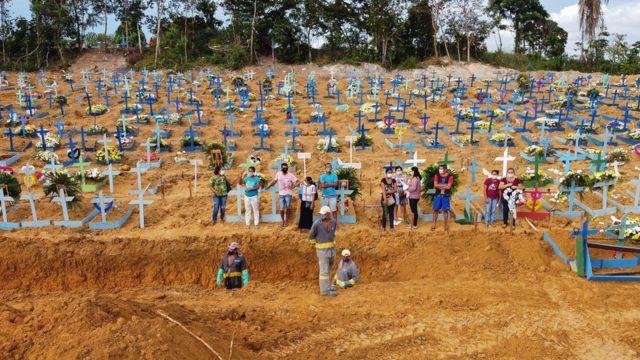 البرازيل تسجل 1214 وفاة جديدة بكورونا