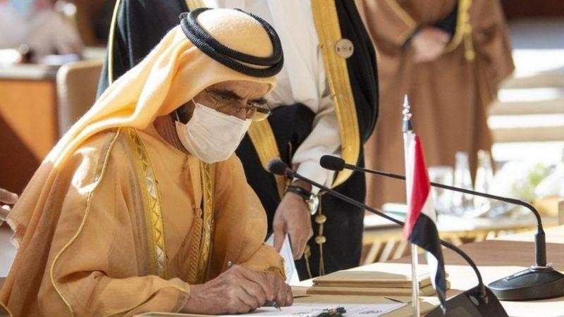 قمة العلا: الإمارات تعلن إعادة فتح المنافذ البرية والجوية والبحرية مع قطر اعتبارا من غد السبت