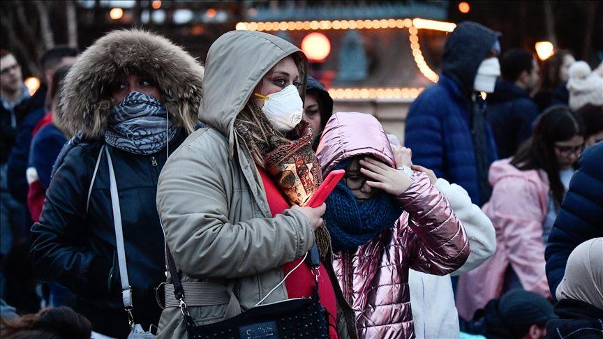 تراجع عدد المصابين بفيروس كورونا في فرنسا
