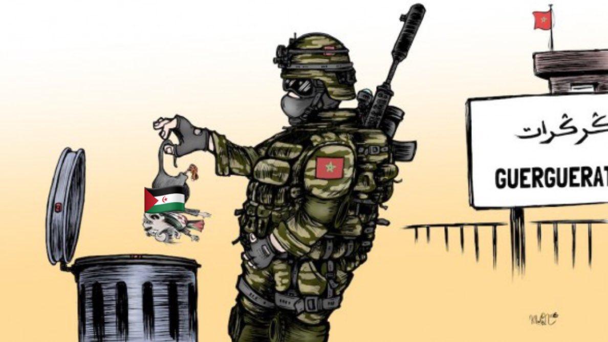 """الإعلام  الدعائي ل""""بوليساريو"""" يعترف : عشرات القتلى والجرحى والأسرى من الانفصاليين حصيلة مناوشاتهم للجيش المغربي"""