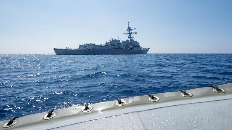واشنطن تنفي تصدي الجيش الصيني لمدمرة أمريكية