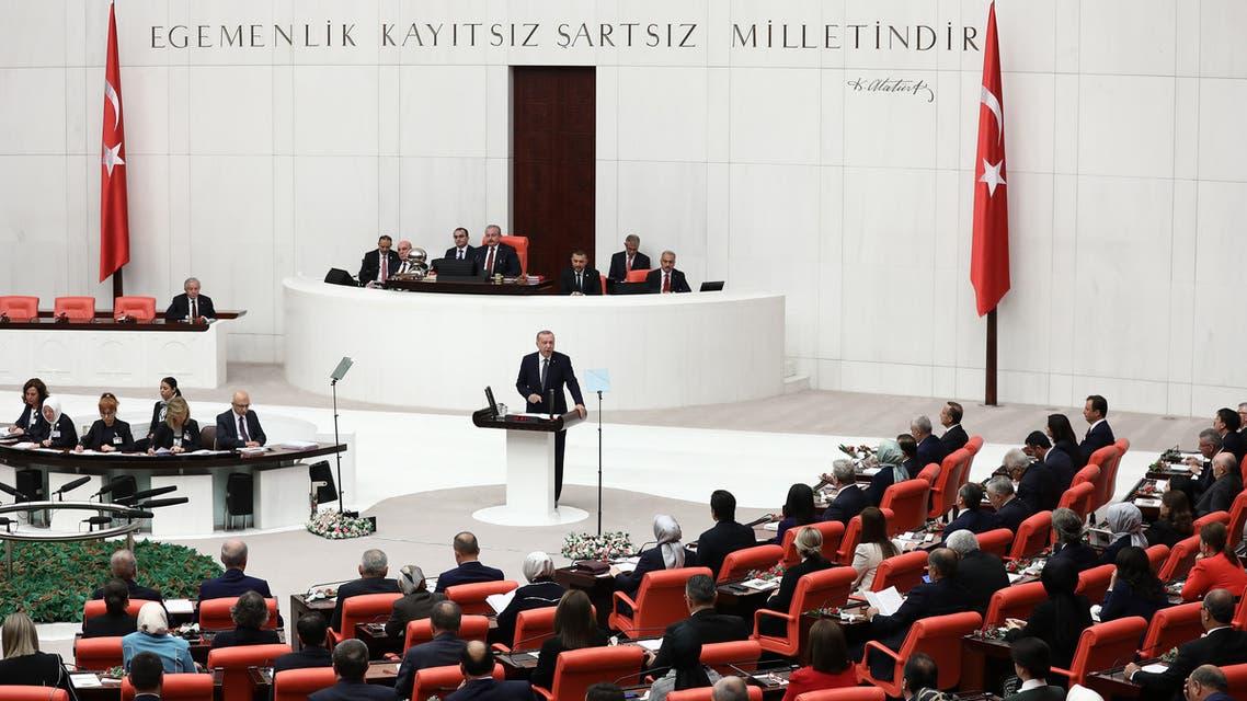 مشادات في البرلمان التركي بين وزير الداخلية ونواب معارضين بسبب الأكراد