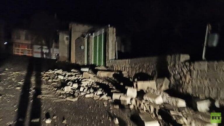 هزة أرضية تضرب مدينة سي سخت جنوبي إيران