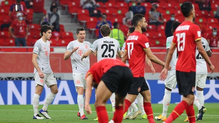 بايرن ميونخ الألماني يتغلب على الأهلي المصري في نصف نهائي مونديال الأندية