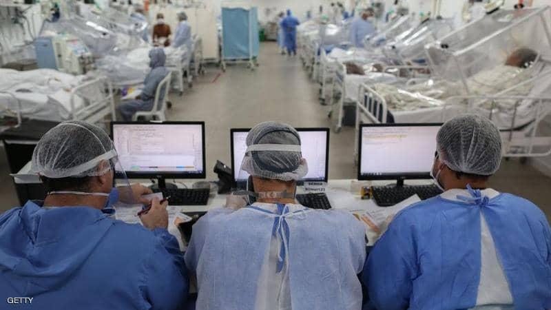 البرازيل .. 51050 إصابة و1308 وفيات جديدة بفيروس كورونا