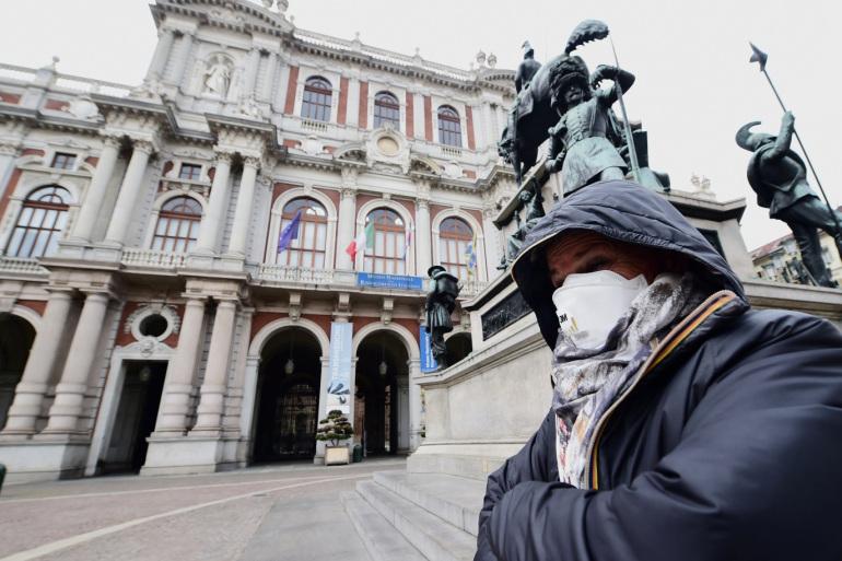 إيطاليا .. 270 وفاة جديدة بفيروس كورونا