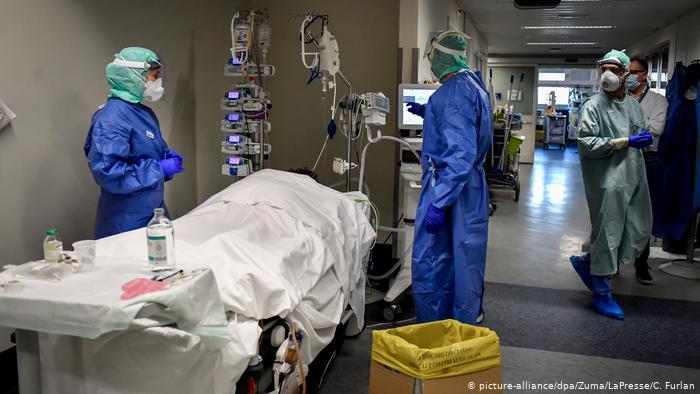 إيطاليا .. 356 وفاة جديدة بفيروس كورونا