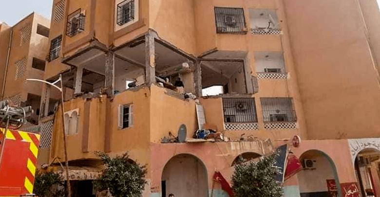 إصابة 17 شخصا اثر انفجار ناجم عن تسرب للغاز في مدينة  الأغواط الجزائرية