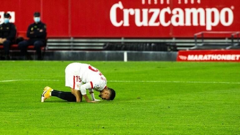 الدولي المغربي يوسف النصيري يلفت أنظار نادي روما الإيطالي