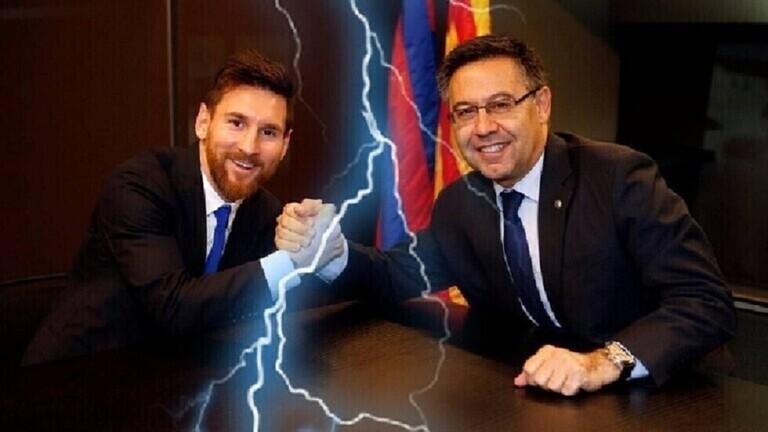 ميسي يقاضي مسؤولين في برشلونة