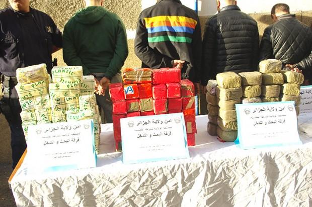 الجزائر تتحول إلى سوق للتهريب الدولي للمخدرات الصلبة والاستيراد والنقل والتخزين والتوزيع