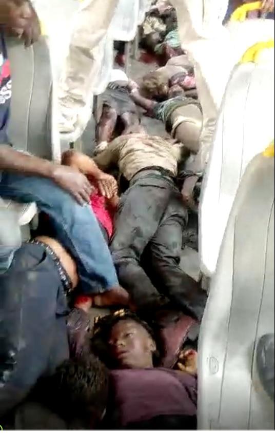 جريمة فظيعة : الجزائر تطرد أكثر من 600 مهاجر  إفريقي وتتسبب في مقتل وإصابة العشرات منهم (صور صادمة)