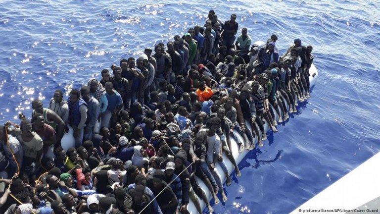 ارتفاعا كبير في تدفقات المهاجرين نحو سواحل إيطاليا