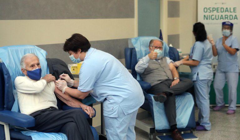 إيطاليا ..تسجيل 401 وفاة جديدة بفيروس كورونا