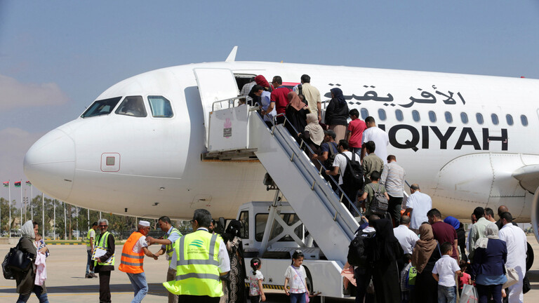 ليبيا: بعد توقف استمر حوالي 7 سنوات.. استئناف الرحلات الجوية بين بنغازي ومصراتة