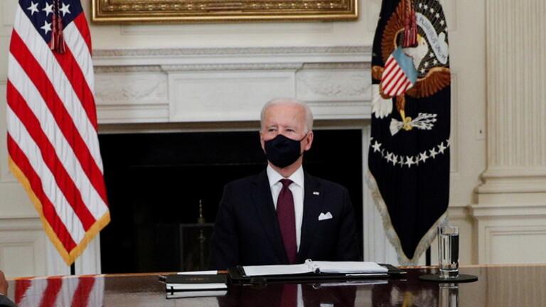 بايدن يمدد سريان قانون الطوارئ الوطني حول العقوبات على إيران
