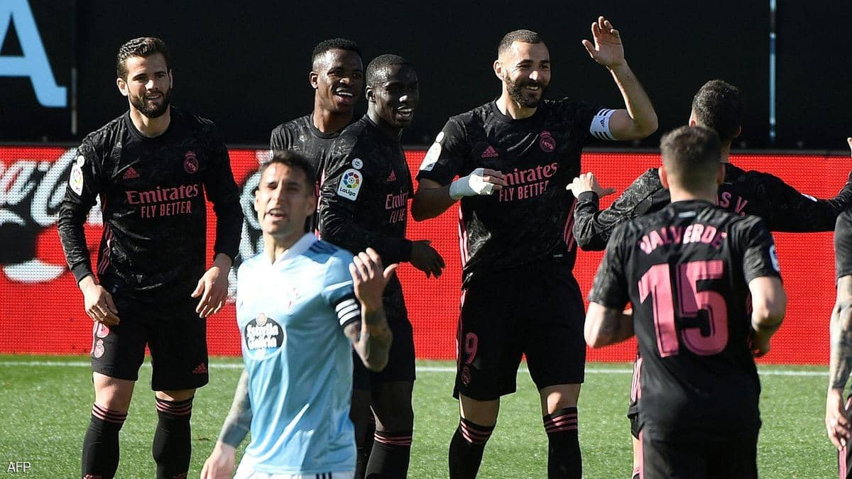 ريال مدريد يفوز خارج قواعده على سلتا فيغو