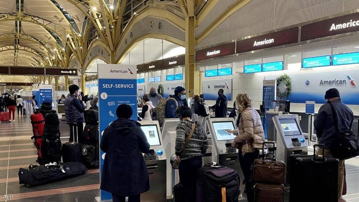 ارتفاع عدد المسافرين بمطارات أميركا لأعلى مستوى منذ 2020