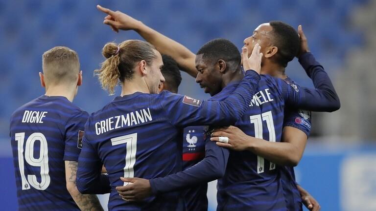 فرنسا تحقق انتصارها الأول في تصفيات مونديال قطر