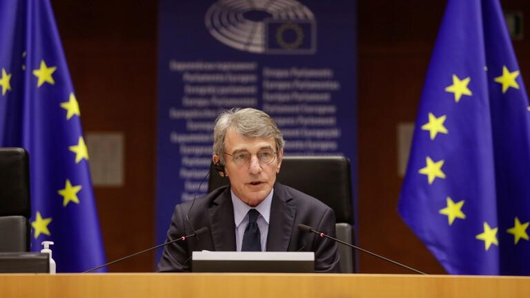 رئيس البرلمان الأوروبي: العقوبات الصينية تهديد للمؤسسات الأوروبية
