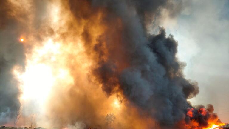 اندلاع حريق كبير في مخيمات للاجئي الروهينغا في جنوب شرق بنغلاديش