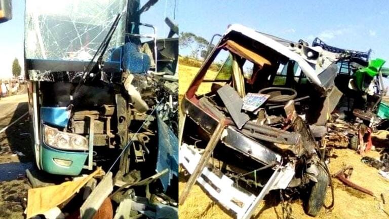 مصرع 30 شخصا  إثر اصطدام حافلة ركاب وشاحنة شمال إثيوبيا