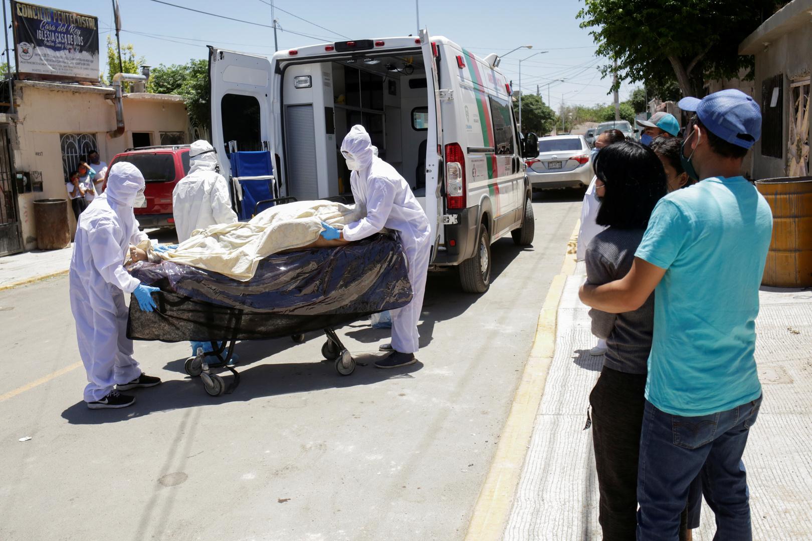المكسيك.. تسجيل 501 حالة وفاة جديدة بكورونا