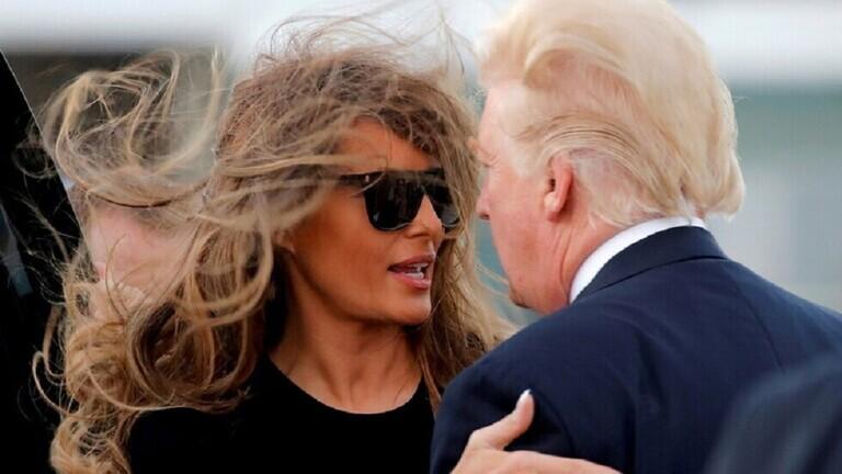 """تقرير جديد يسلط الضوء على سلوك ميلانيا ترامب """"البارد"""" مع زوجها الرئيس السابق"""