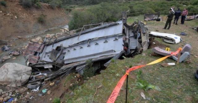 سريلانكا.. مصرع 14 شخصا وإصابة 31 جراء سقوط حافلة ركاب في منحدر