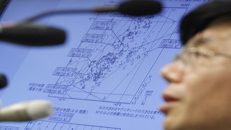 أمواج تسونامي متوقعة في اليابان بعد زلزال بقوة 7.2 درجة