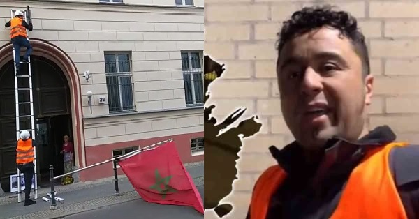 إيقاف المعتدين على القنصلية المغربية وتدنيس العلم الوطني بهولندا