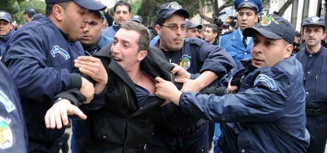 الجزائر: تصاعد حملة الاعتقالات التعسفية يثير غضب منظمات حقوقية… !!