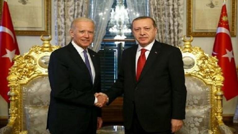 بايدن يجري أول اتصال مع أردوغان منذ توليه الرئاسة