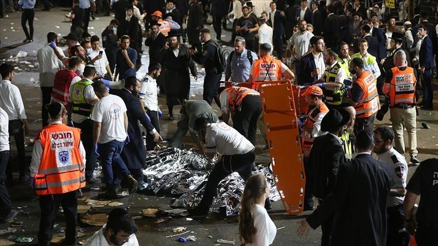 إسرائيل .. مقتل ما لا يقل عن 44 شخصا في حادث تدافع أثناء حفل ديني