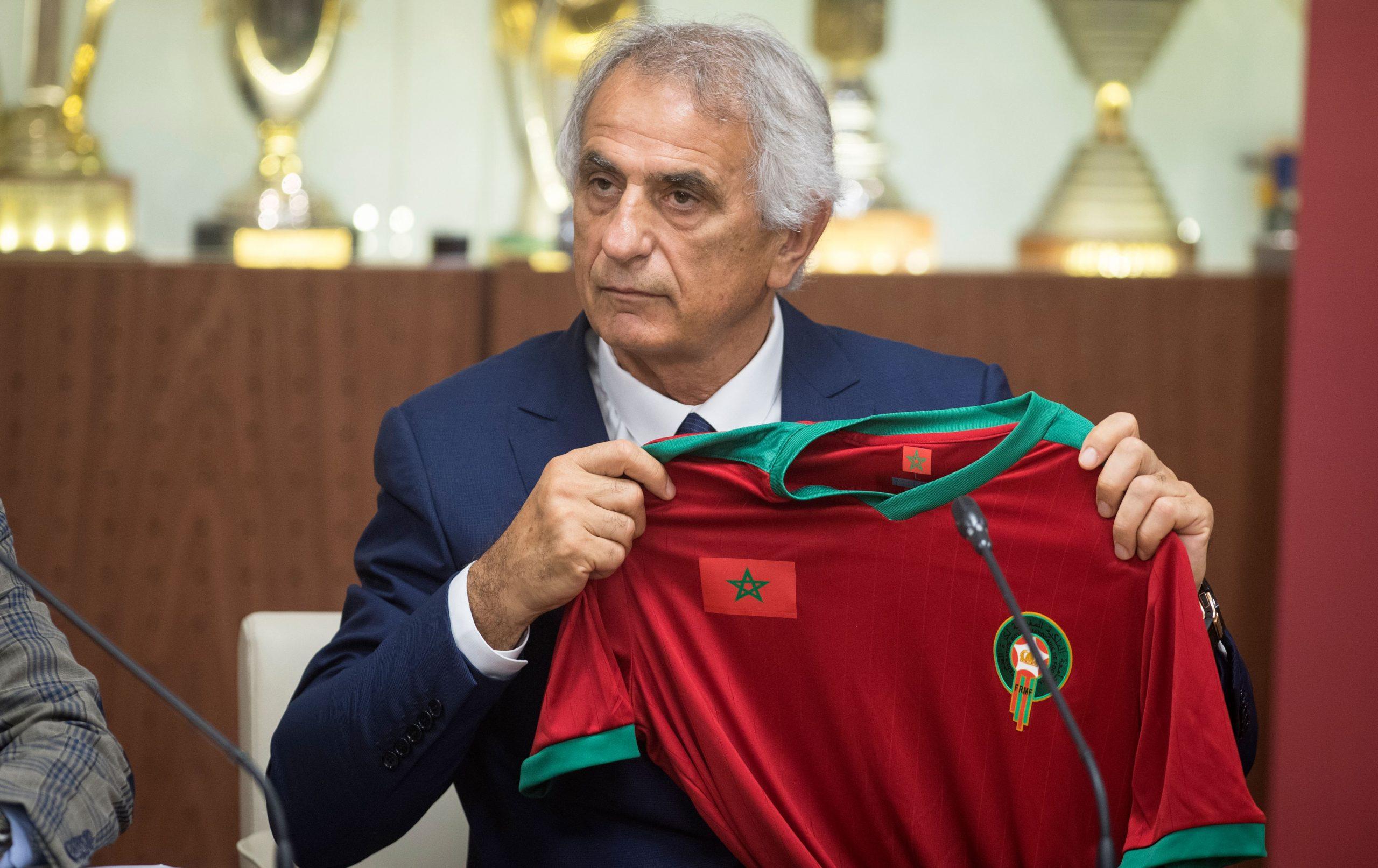 وحيد حاليلوزيتش : هدفي الأساسي رفقة أسود الاطلس هو التأهل إلى نهائيات كأس العالم 2022