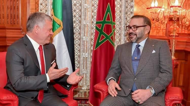 عاهل المغرب أول قائد يتصل بالملك عبد الله الثاني لتأكيد دعم المملكة لقرارات الأردن