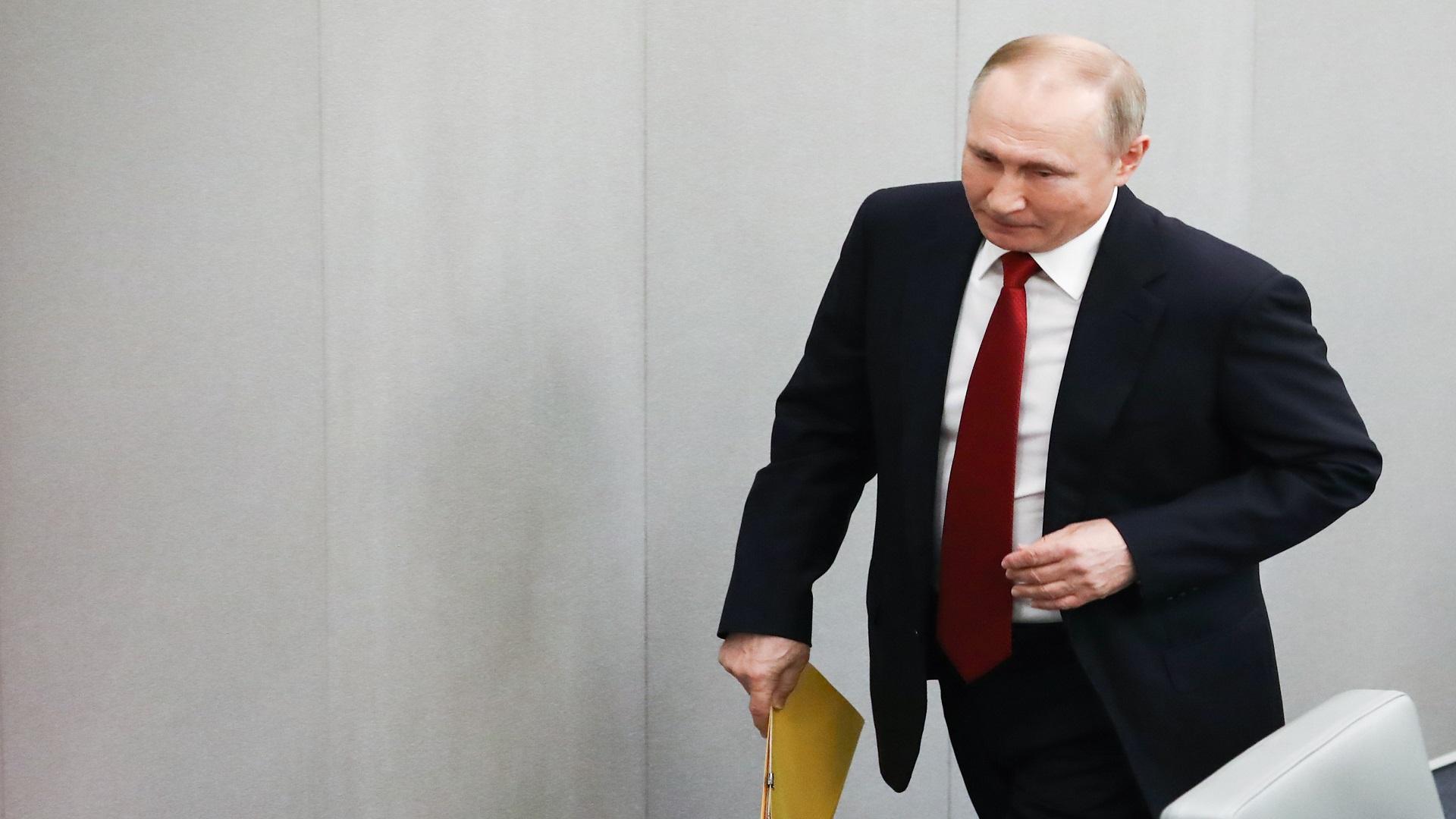 """بوتين يصدر مرسوما يقضي """"بتبنّي إجراءات الرد على الخطوات غير الودية من دول أجنبية"""" تجاه روسيا"""